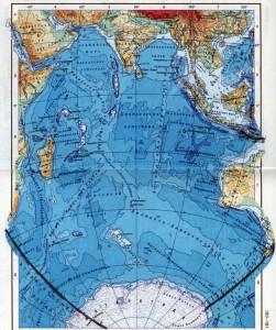 температура воды индийского океана
