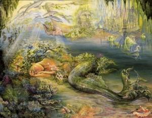 Жозефина Уолл, Спящая русалка