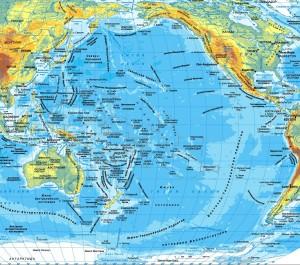 моря бассейна Тихого океана
