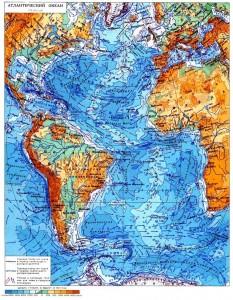 Моря бассейна Атлантического океана