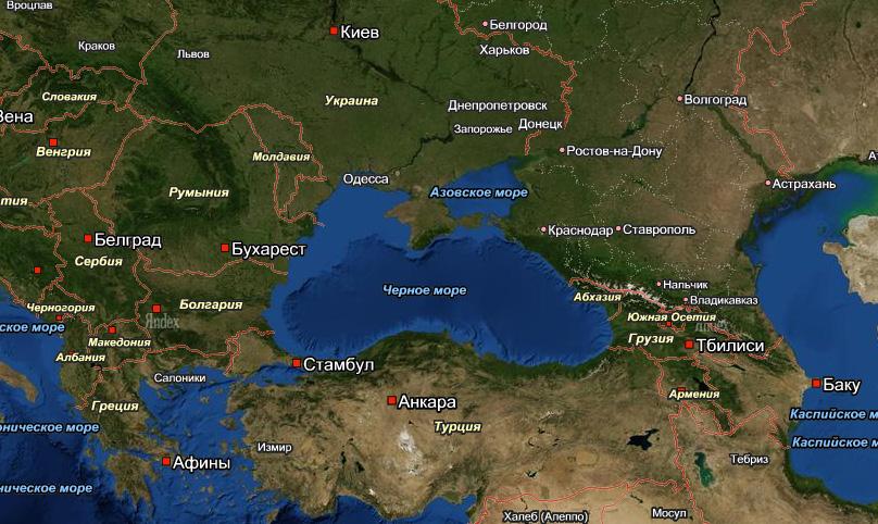 Азовское море где находится в россии